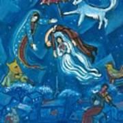 Guadalupe Visits Chagall Art Print