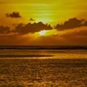 Guam Sunset Art Print