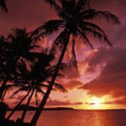 Guam, Tumon Bay Art Print