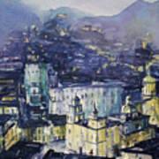 Guanajuato At Night Art Print