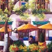 Guanajuato Cafe Art Print