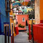 Guanajuato Lane Art Print