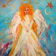 Guardian Angel Art Print by Barbara Pirkle