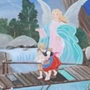 Guardian Angel Donated Art Print