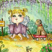 Guardian Angel Kindness Art Print