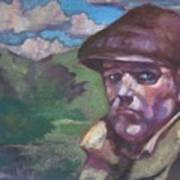 Guarding The Mountain Pass Art Print