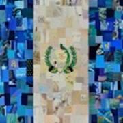 Guatemala Flag Art Print