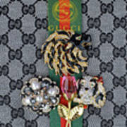 Gucci With Jewelry Art Print