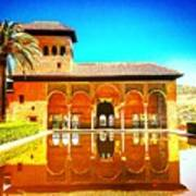 Guest House At The Alhambra Art Print