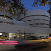 Guggenheim Museum New York  Art Print