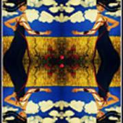Guiar-symmetrical Art Art Print