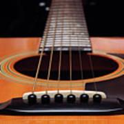 Guitar 12 Art Print