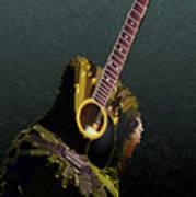 Guitar Abstract Art Print