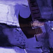 Guitar Art 001a Art Print