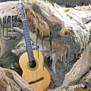 Guitar Purgatory Art Print