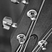 Guitar Study A Art Print