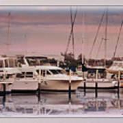 Gulf Coast Dock Art Print
