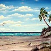 Gulf Dunes Art Print