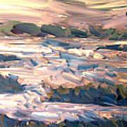 Gulf Island Sunset Art Print
