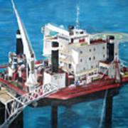 Gulf Marine Services - Naashi Art Print