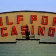 Gulfport Casino Art Print