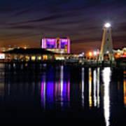 Gulfport Lighthouse - Mississippi - Harbor Art Print