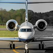 Gulfstream Aerospace G500 I-delo Frontal.nef Art Print