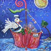 Gull's Bounty Art Print