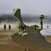 Gulls Dream Art Print