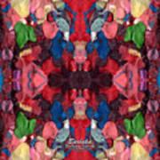 Gum Art  1a Art Print