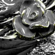 Gum Wrapper - Gold Art Print