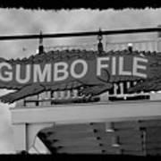 Gumbo File Art Print