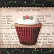 Gumdrop Cupcake Art Print
