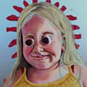 Gummy Eyes Swedish Fish Art Print
