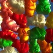 Gummybears 2 Art Print
