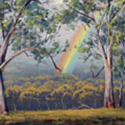 Gums With Rainbow Art Print
