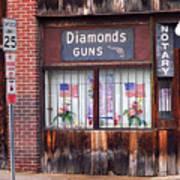 Johnson City Tennessee - Gun Shop Art Print