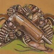 Gunfighter S Legacy Art Print
