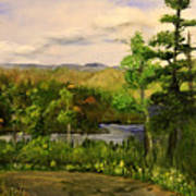 Gunflint Overlook Art Print