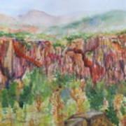 Gunnison Ridge Colorado Art Print