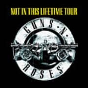 Guns And Roses Logo1 2017 Art Print