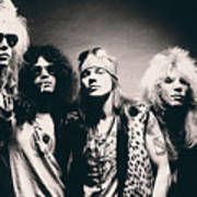 Guns N' Roses - Band Portrait Art Print