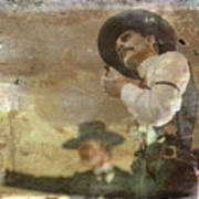 Gunslinger II Doc Holliday Art Print