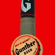 Gunther Beer Art Print