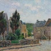 Gustave Loiseau 1865 - 1935 Rue A St. Lunaire Art Print