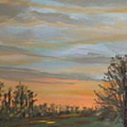 Gwinnetian Sunset Art Print