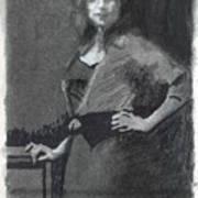 Gypsy A Study Art Print