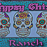 Gypsy Chix Ranch Art Print