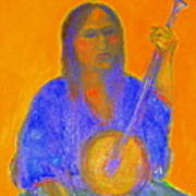 Gypsy Girl 11 Art Print