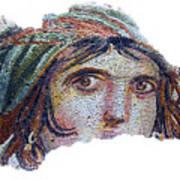 Gypsy Girl Of Zeugma Art Print